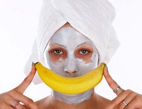 Банановые маски для лица