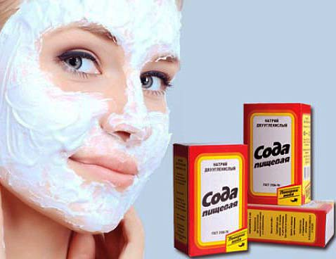 маски для лица с содой