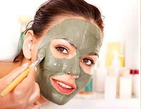 маски для лица с глиной и маслами