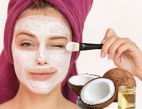 маски для лица с кокосовым маслом